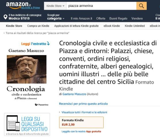 Cronologia su Amazon