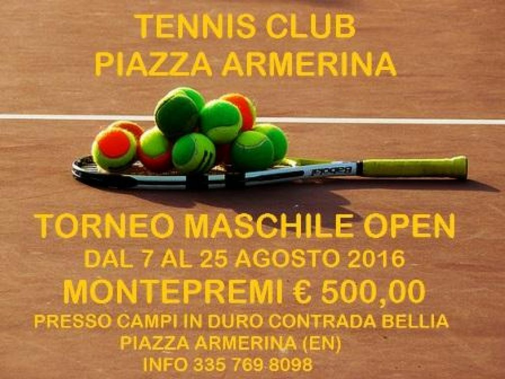 Torneo Open Tennis